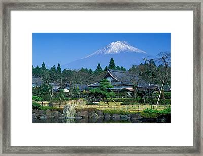 Mt. Fuji Japan Framed Print by Robert Jensen