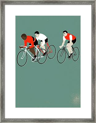 Mt Green Framed Print by Eliza Southwood
