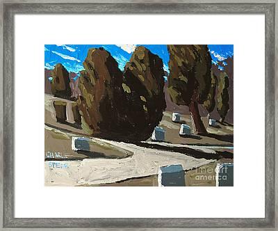 Mt Hope Framed Print by Charlie Spear