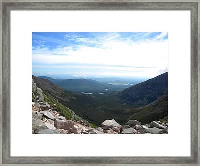 Mt. Katahdin 4 Framed Print by James Petersen