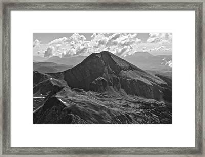 Mt. Lindsey Framed Print by Aaron Spong