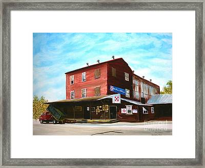 Mt. Pleasant Milling Company Framed Print by Stacy C Bottoms