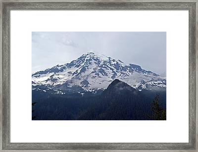 Mt. Rainier  Framed Print by Tikvah's Hope