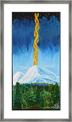 Mt. Shasta Framed Print by Cassie Sears