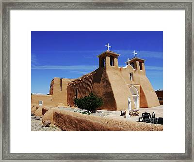 Mud And Straw Framed Print by Mel Steinhauer