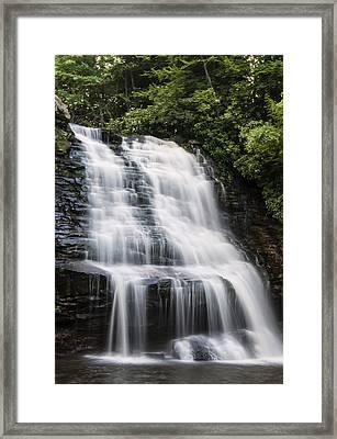 Mud Creek Falls 2  Framed Print by Chris Flees