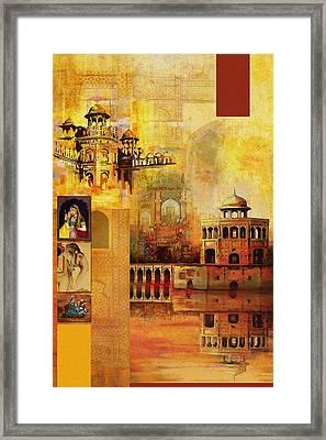 Mughal Art Framed Print by Catf