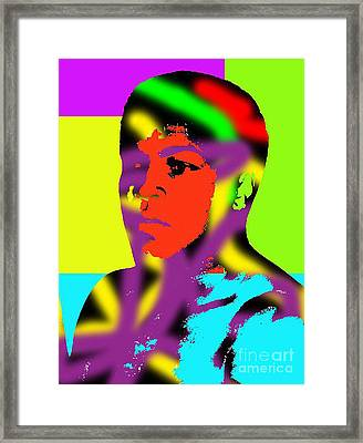 Muhammad Ali Framed Print by Gerhardt Isringhaus
