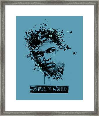 Muhammad Ali Framed Print by Pop Culture Prophet