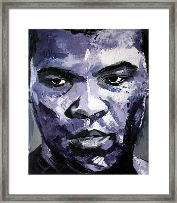Muhammad Ali Framed Print by Richard Day