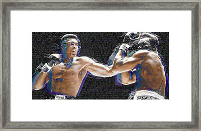 Muhammad Ali Framed Print by Tony Rubino