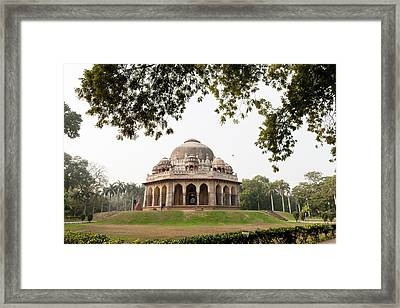 Muhammad Sha Sayyid's Tomb Framed Print by Tom Norring