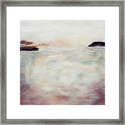 Mulberry Morning Framed Print by Victoria Primicias