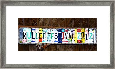 Mullet Fest 2012 Framed Print by David Lee Thompson