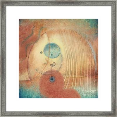 Mum And Me Framed Print by Eclat Arts