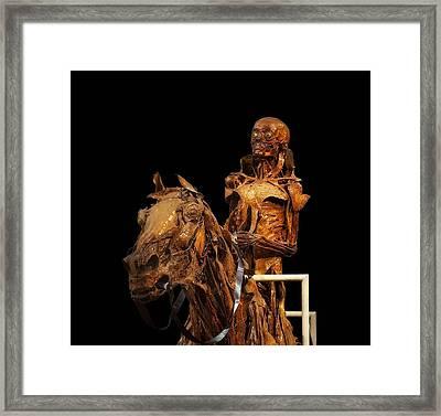 Mummification Framed Print by Mountain Dreams