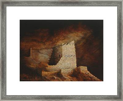 Mummy Cave  Framed Print by Jerry McElroy