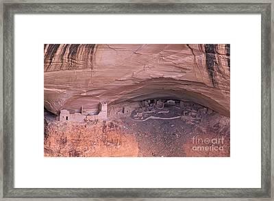 Mummy Ruin Aka Massacre Ruin Framed Print by Bob Christopher