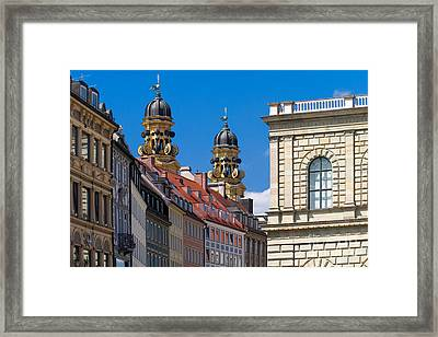 Munich Framed Print by Juergen Klust