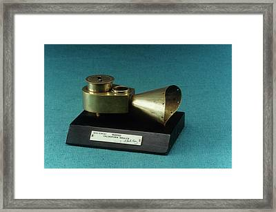 Murphy Chloroform Inhaler Framed Print by Science Photo Library