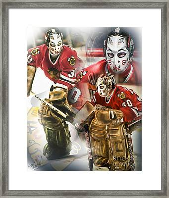 Murray Bannerman Framed Print by Mike Oulton
