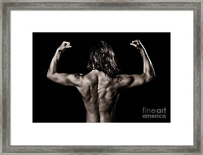 Muscles Framed Print by Jt PhotoDesign
