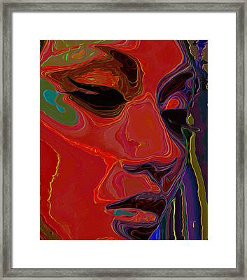 Muse 1 Framed Print by  Fli Art