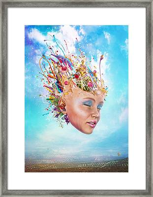 Muse Framed Print by Mario Sanchez Nevado