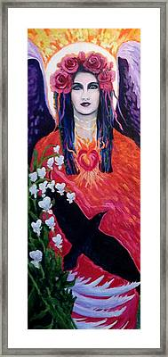 Muse Within Framed Print by Kelly Kelenic