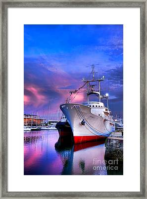Musee Maritime Framed Print by Olivier Le Queinec