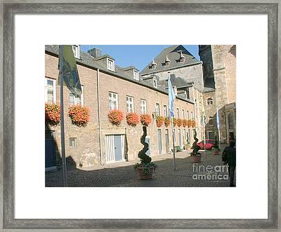 Museum Aachen Germany Framed Print by Anthony Morretta