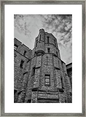 Museum At The Castle  8301 Framed Print by Guy Whiteley