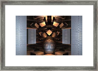 Museum Display 2 Framed Print by Ricky Jarnagin