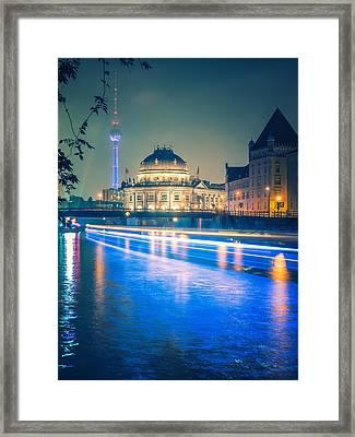 Museum Island Berlin Framed Print by Alexander Voss