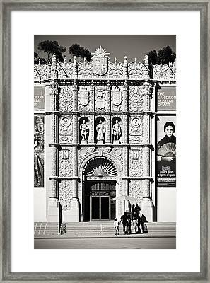 Museum Of Art San Diego Framed Print by Christine Till