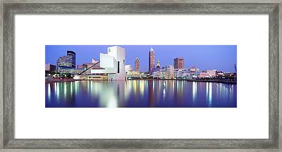 Museum, Rock And Roll Hall Of Fame Framed Print by Panoramic Images
