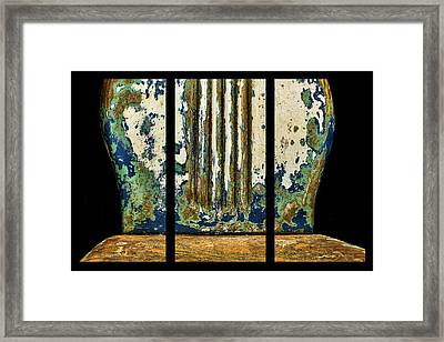 Music For The Back Framed Print by Nikolyn McDonald