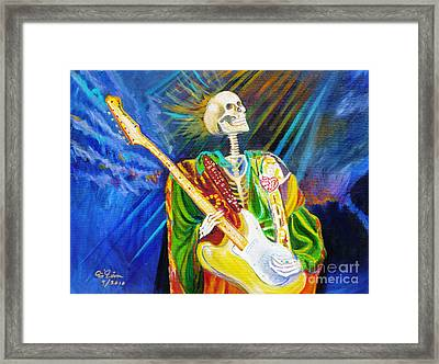Music From Heaven Framed Print by To-Tam Gerwe