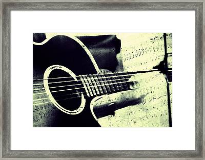 Music From The Heart II Framed Print by Jenny Rainbow