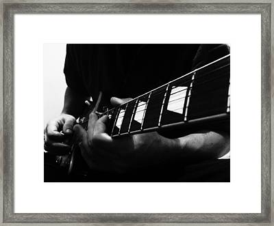 Music Is The Same In Every Language Framed Print by Lucy D