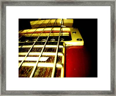 Music Framed Print by Lucy D