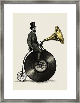 Music Man Framed Print by Eric Fan