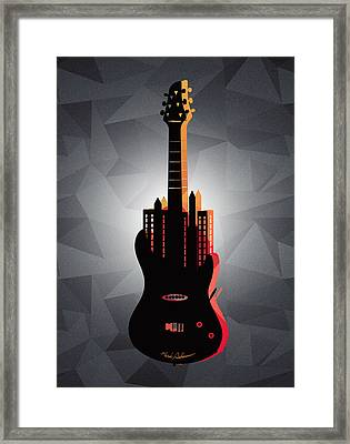 music NYC  Framed Print by Mark Ashkenazi