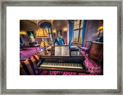 Music Room Framed Print by Adrian Evans