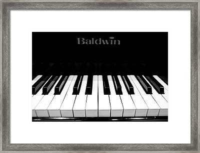 Music Framed Print by Sebastian Musial