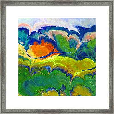 Musical Landscape Framed Print by Lutz Baar