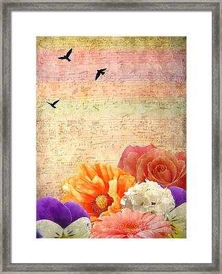 Musical Light Framed Print by Sharon Lisa Clarke