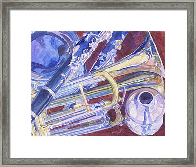 Musical Reflections Framed Print by Jenny Armitage