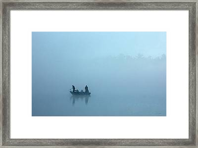 Musky Love Framed Print by RJ Martens