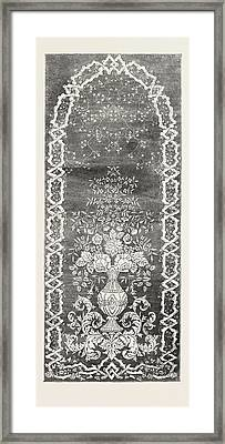 Muslin Curtain Framed Print by Mair And Son, Glasgow, English, 19th Century